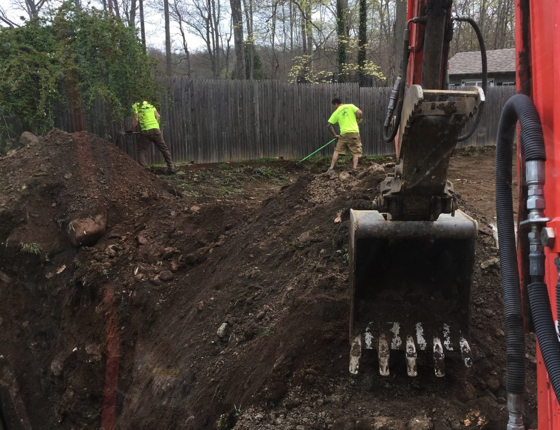 land leveling and grading